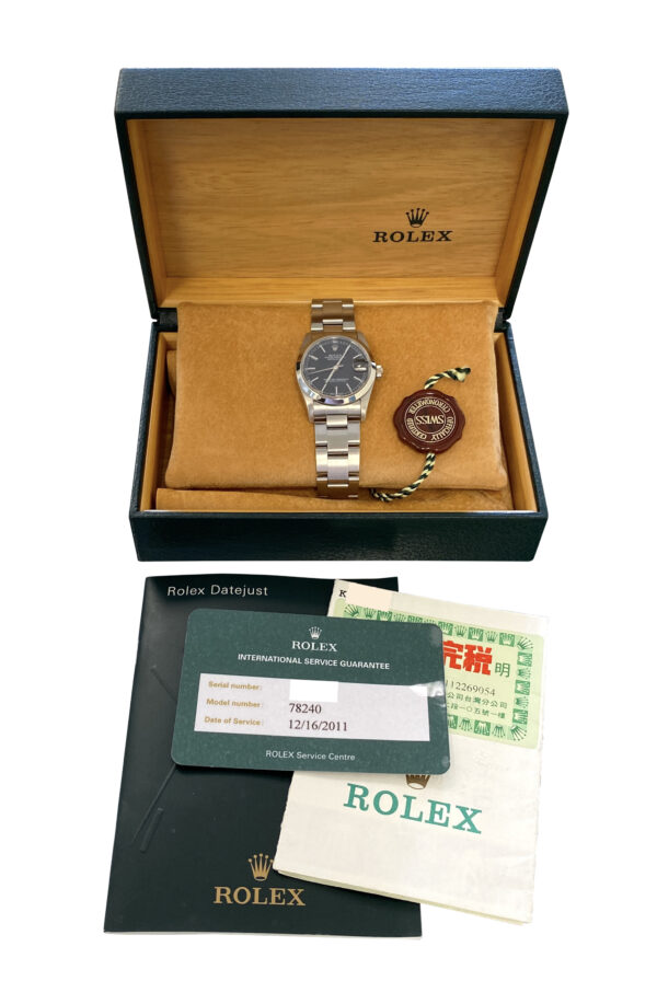 2000 Rolex datejust 78240 31mm for sale