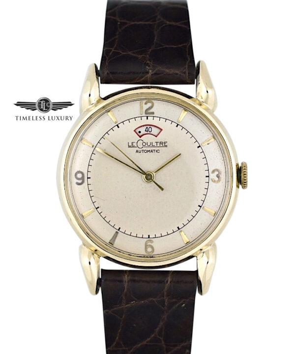 LeCoultre Powermatic 14k Gold Vintage Watch