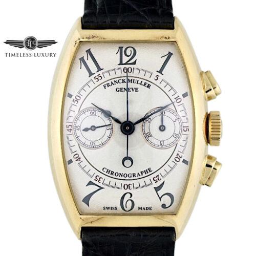 Franck Muller Casablanca Chronograph 5850CC 18k Yellow Gold