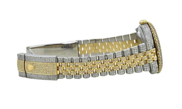 Rolex datejust 126333 jubilee diamond band