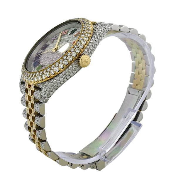 Rolex 126333 custom diamond watch