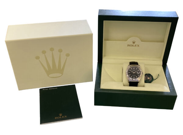 2005 Rolex Datejust 36mm 116139 white gold for sale