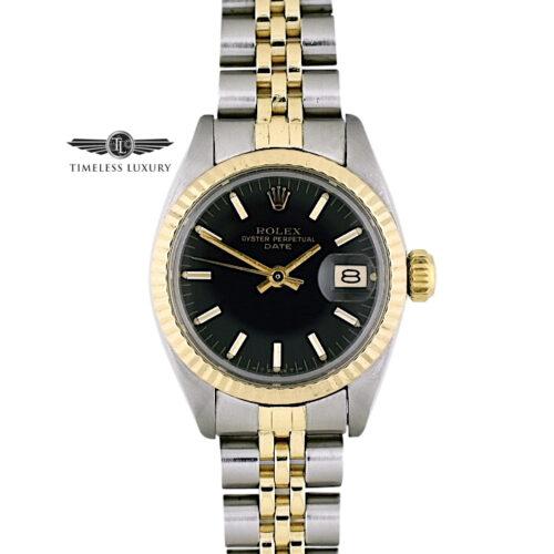 1980 Rolex Datejust 6917 Black dial