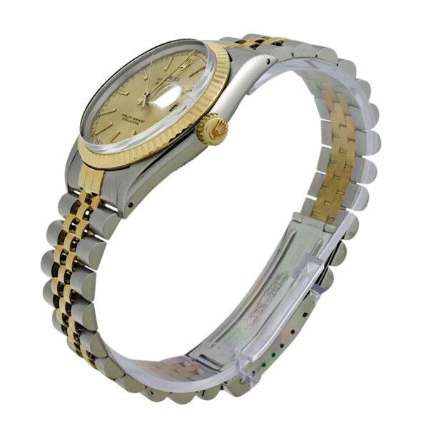 1986 Rolex Datejust 16013 champagne dial mint