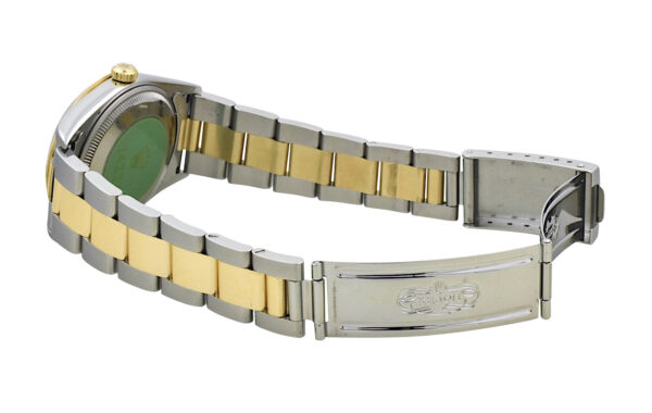 1998 Rolex Date 14233 steel & gold