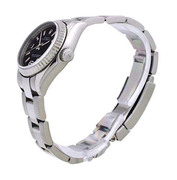 Ladies Rolex Oyster Perpetual 176234 black dial