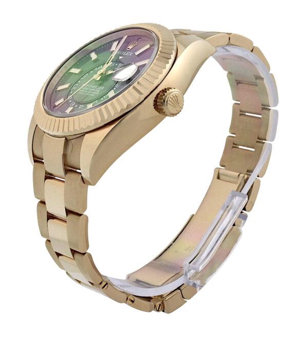 Rolex Sky-Dweller 326935 18k Rose Gold rhodium dial