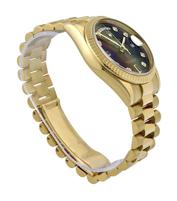 Rolex Day-Date President 118238 diamond & ruby dial