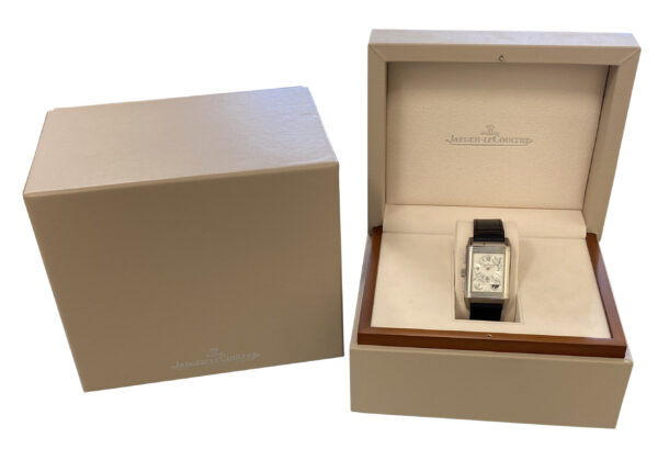 Jaeger LeCoultre Reverso Grande Date GMT Special Edition 240.8.18 For Sale