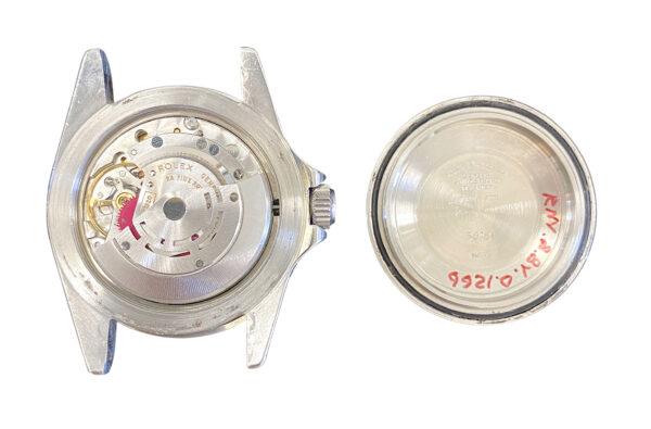 Vintage Rolex Submariner 5513 movement