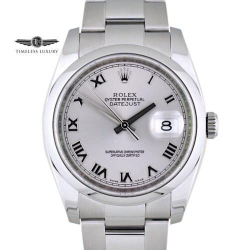 2008 Rolex Datejust 116200 36mm