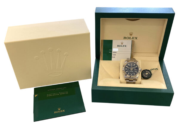 Rolex Sky-Dweller 326934 Blue dial for sale