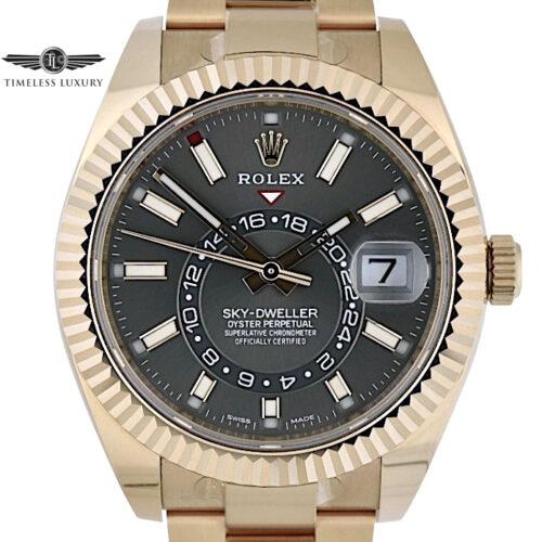 Rolex Sky-Dweller 326935 rhodium dial