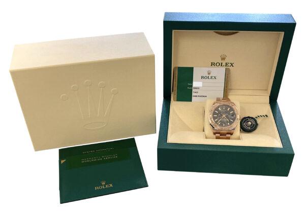 Rolex Sky-Dweller 326935 18k rose gold for sale