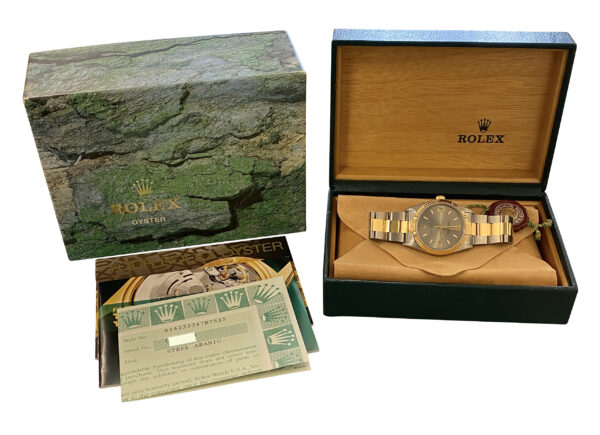1998 Rolex Date 14233 Steel & gold 34mm for sale